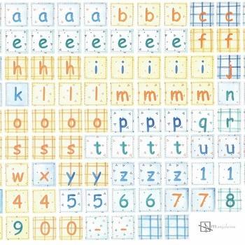 alfabet vrolijk