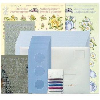 Tri-O kaartenkit blauw/d blauw
