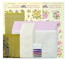 Tri-O kaartenkit roze/magnolia