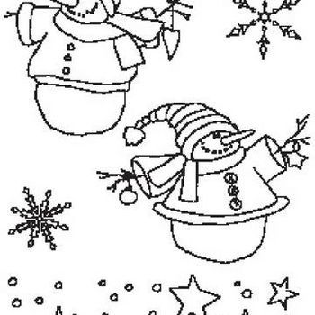 clear stamp Country Christmas