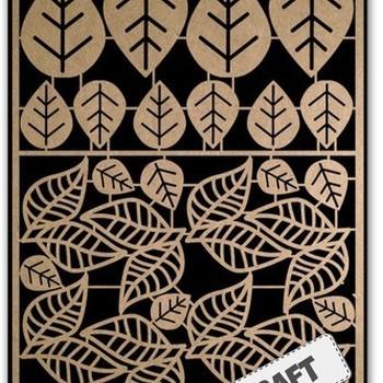 Paper Art Kraft - Bladeren 2