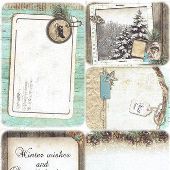 Studiolight - Winter memories - Project cards 04