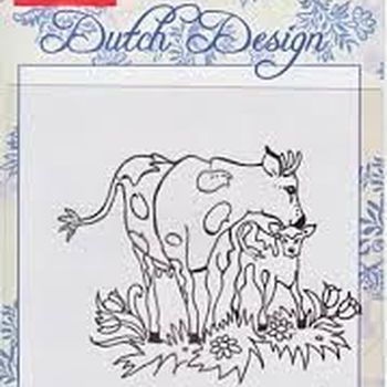 clear stamp Dutch Design in de wei