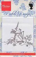 clear stamp Dutch Design molen