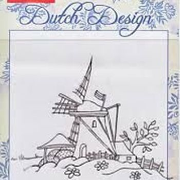 clear stamp Dutch Design molen