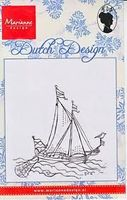clear stamp Dutch Design zeilboot