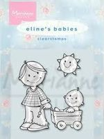 clear stamp Eline's baby's sister