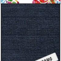 Fabric Art - Jeansblauw donker