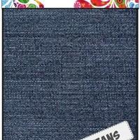 Fabric Art - Jeansblauw medium