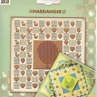 Hardanger borduur- embossingmal baby