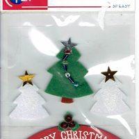 emb. merry christmas
