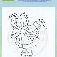 clear stamp LS kerstguirlande