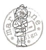 clear stamp LS kerstknuffel