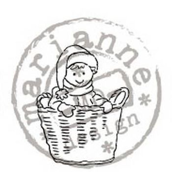 clear stamp LS kerstmand
