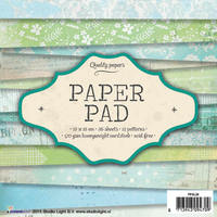 Studiolight Paper pad (28) - groen