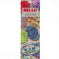 Gelli - printing plates 3 shapes - set 2