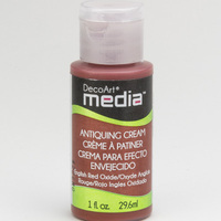DecoArt - Antiquing cream - English red oxide