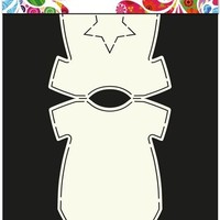 Card Art Stencil - Baby rompertje
