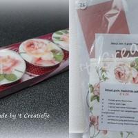 DIY Theelichten pakket 26 - Rambling Rose