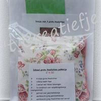 DIY Theelichten pakket 23 - Roosjes