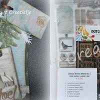 Labelkaarten pakket 5+ - Winter Memories 1 (met labelmal)
