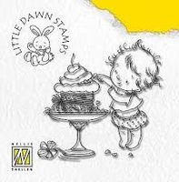 clear stamp Little Dawn sneaky taste