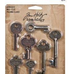 Tim Holtz - Metal word keys