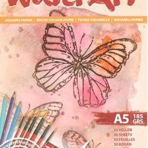 Aquarelpapier A5 (185)