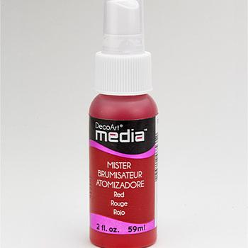 DecoArt - Acrylic spray mister - red