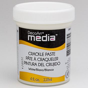 DecoArt - Mixed media - Crackle paste white