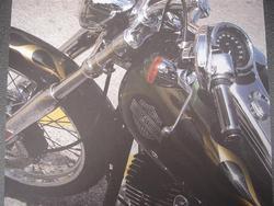 Crea Motion motorcycle