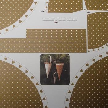 Karen-marie cone white&gold