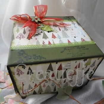 Geschenkdoos Kerstbomen