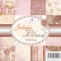 Wild Rose Studio - Paper pack - Antique Library