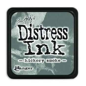 Distress ink pad mini - Hickory smoke