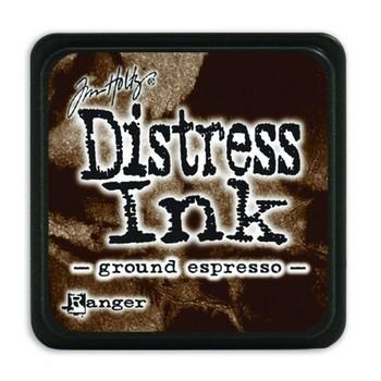 Distress ink pad mini - Ground espresso