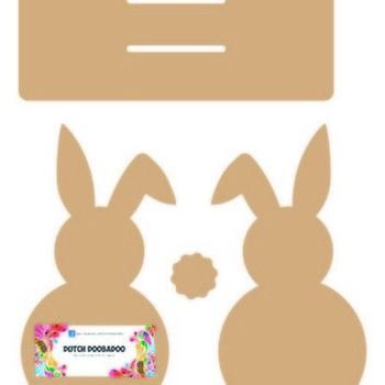 MDF - Bunny servethouder