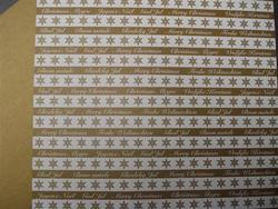 Karen-Marie stars white&gold