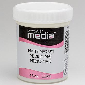 DecoArt - Mixed Media - Matte medium clear