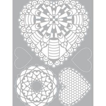 Pronty Mask stencil - gel Heart