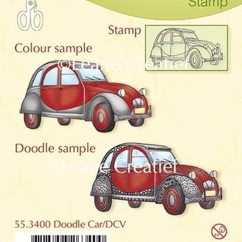 LeCrea - Doodle clear stamp - Car