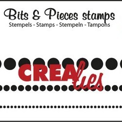 Crealies Clearstamp Bits & Pieces (76) - Dots