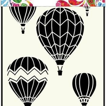Mask Art - Luchtballonnen