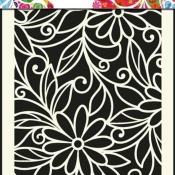 Mask Art - Flower swirl