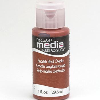 Mixed Media Acryl - English Red Oxide (13)