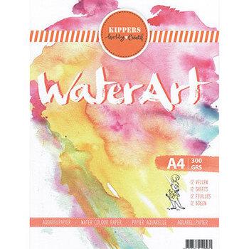 Aquarel papier - 12 sheets