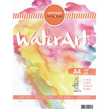 Aquarel papier - 12 sheets