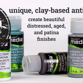 Mixed media - Antiquing cream kleurenpalet (14)