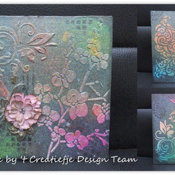 Mixed media - Mini album/journal met media misters (17)