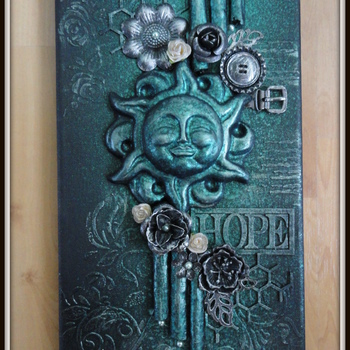 Mixed media - Canvas Hope (20)